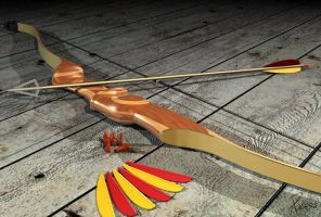 Archery by custom3dgraphics