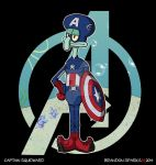 Spongebob Avengers--Captain Squidward by thesometimers