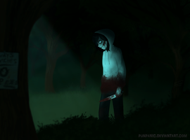 | Creepypasta | Slender's Forest ... by PUNPANIC