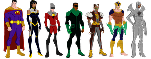 My DC Reboot Crime Syndicate by jsenior