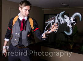 Booker DeWitt Cosplay by AirPirateCid
