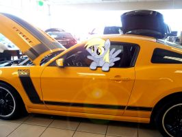 Derpy Loves Mustangs by EMedina13