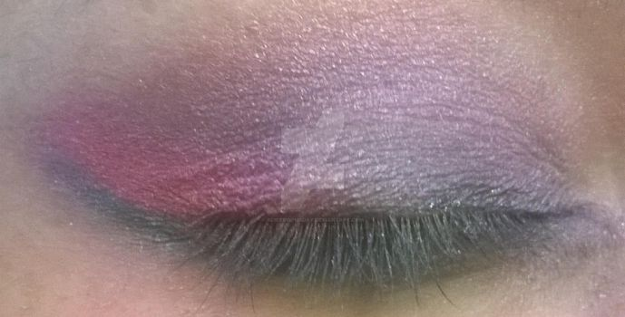 MLP Themed Eye Shadow Experiment: Twilight by alicedoomsday