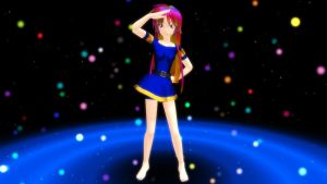 MMD Sunset Nebula WIP by CrimsonKingie