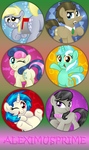 MLP Buttons batch 3 by AleximusPrime