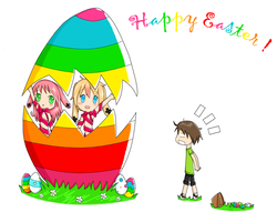 Happy Easter by Yvanya