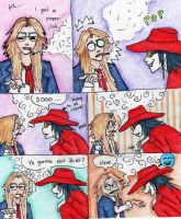 A normal day in Hellsing by suburba-ninja