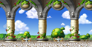 Maplestory Custom BG - Garden Cafe by Akarituturu
