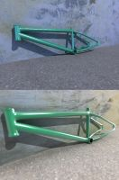 Bmx Frame 3D by DaniNeves