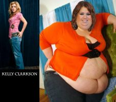 SSBBW Kelly Clarkson by Caffeine-Cycle