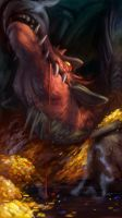Conversation with Smaug by NightmareHound