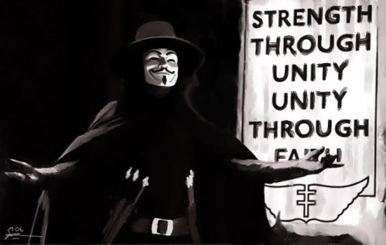 V for Vendetta by adriano10