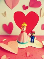 True Love is Mario Love by Nekopie