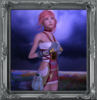 FF13-2 Serah by IamRinoaHeartilly