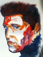 abstract Elvis painting by seth-whetzel