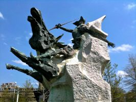 Don Quixote Statue III by 44NATHAN