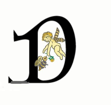 D is for the Bee Fairy by Sue2BlueEyes