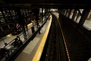 NYC Series - Queue The Train by Katastrophey
