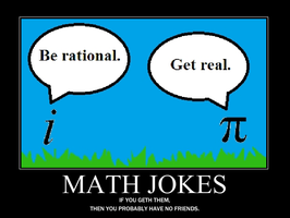 Math Jokes Demotivational by Dawnmist410