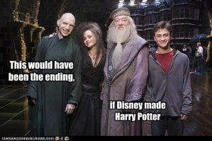 What if Disney made Harry Potter... by cullen1640