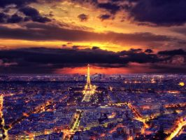 dark paris by klefer