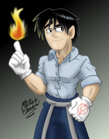 Roy Mustang by MRottweilerDogBarks