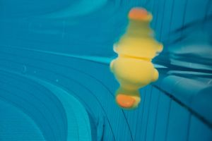 Rubber Ducky Dives by Ruthlessphoto