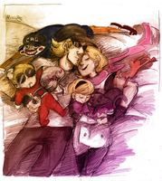 Derse family nap by Ellinor87