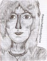 Roger Taylor in Pen by theaschebloodprince