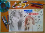 Christina Grimmie by doodlingsketch