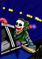 Getaway - Joker Battle by RouxWolf