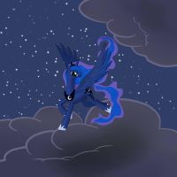 Princess of the Night by Chaotic-Brony