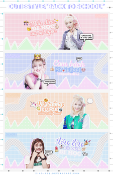 160729 /// SHARE PSD PACK COVER 'BACK TO SCHOOL' by Xiao-Xue