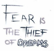 Fear is the Thief of Dreams (Day 122) by Hedwigs-art