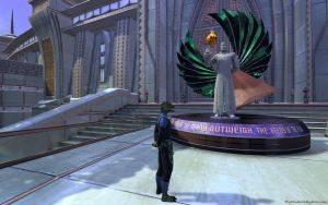 STO - Spock Memorial - New Romulus by thypentacle