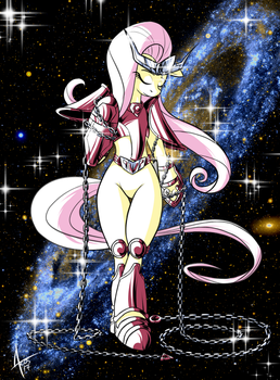 Andromeda Fluttershy by Cynos-Zilla