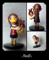 Legend of Zelda Medli Figure by stevoluvmunchkin
