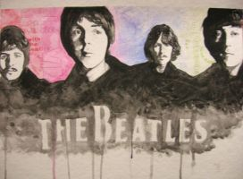 Beatles by vvyk