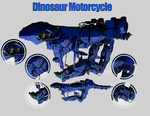 Dinosaur Motorcycle by 531445600