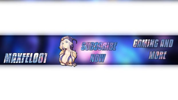YOUTUBE BANNER , GAMING , LEAGUE OF LEGENDS by MaxFell001