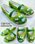 keroppi shoes by JONY-CAKEP