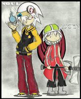 Soul and Lucien_colored by punkies13
