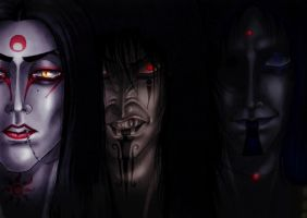 The Triangle of Darkness by Master-Of-Fear