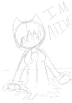 Inky Bendy WIP by RadioControl