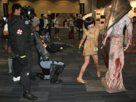 RE and Silent Hill by Avereal