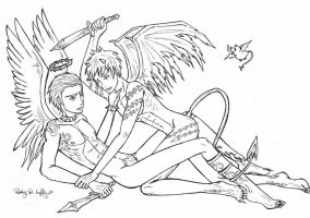Angel and Demon (German Brothers) by patty110692