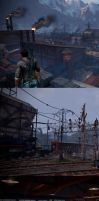 Uncharted 2 - Trainyard by Konartist3D