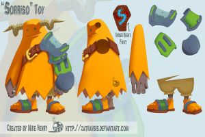 Sorriso Toy Design by Zatransis