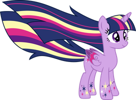 Rainbow Power Twilight Sparkle by AuburnBorbon