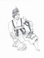 Wakka wip2 by Sampixie